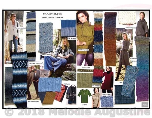 Moody Blues Denim Sweaters